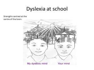 Dyslexia mind